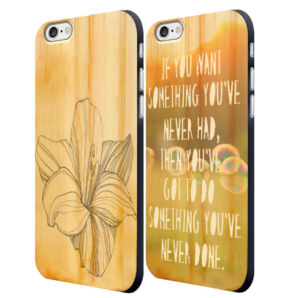 iPhone 6 houten case