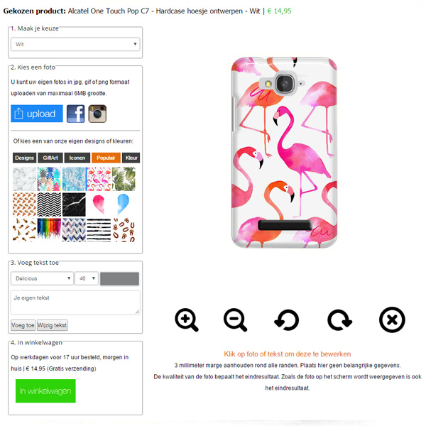 Coque Alcatel C7