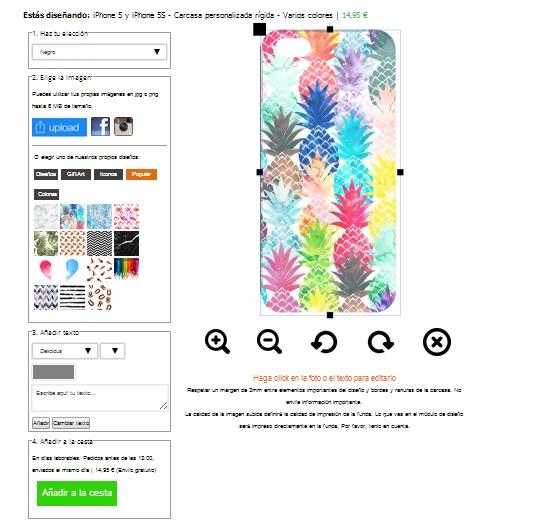 Coque personnalisée iPhone 5, 5S ou SE