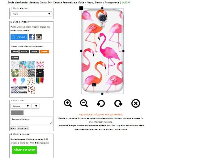coque personnalisée Samsung Galaxy S4