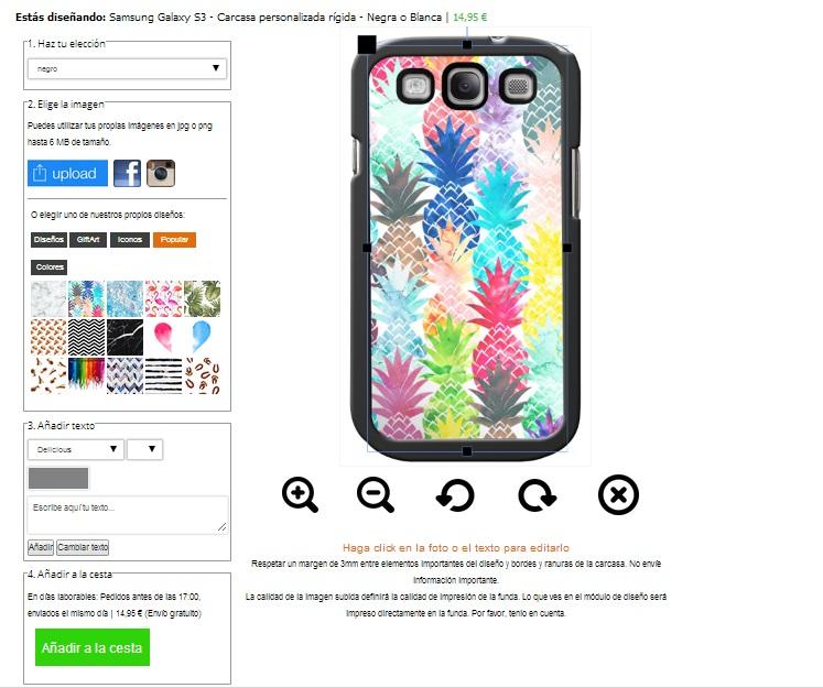 coque personnalsiée Samsung Galaxy S3