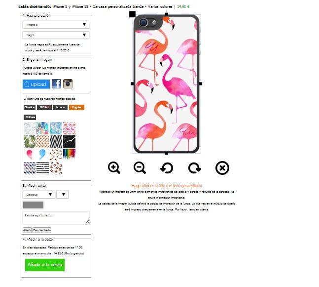 iPhone 5s softcase gsm hoesje maken