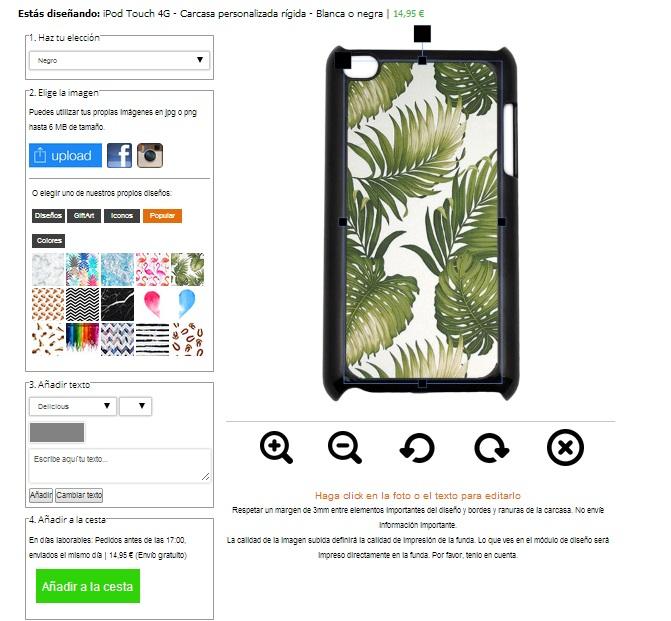 iPod touch 4G ontwerpen