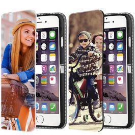 iPhone 6 & 6S  - Coque Portefeuille Personnalisée (Sur L'avant)
