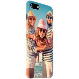 iPhone SE (2020) - Coque Rigide Personnalisée à Bords Imprimés