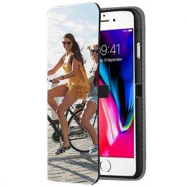 iPhone SE (2020) - Coque Portefeuille Personnalisée (Sur L'avant)