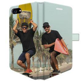 iPhone SE (2020) - Coque Portefeuille Personnalisée (Sur Les 2 Faces)
