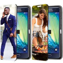 Samsung Galaxy A5 (2015) - Coque Portefeuille Personnalisée (Sur L'avant)