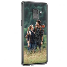 Samsung Galaxy A8 (2018) - Coque Silicone Personnalisée