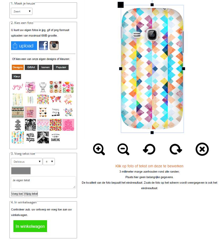 Coque personnalisée Samsung Galaxy Y
