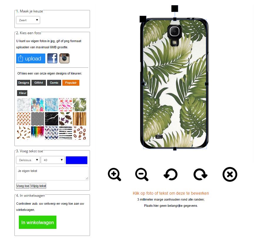 Samsung Galaxy Mega 6.3 Hardcase hoesje met foto