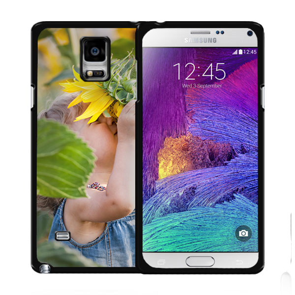 Coque personnalisée Samsung Galaxy note 4 Edge impression sur la tranche