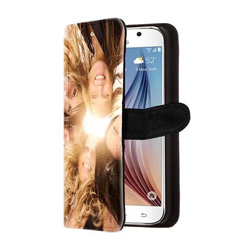 Galaxy S6 portemonnee hoesje met foto