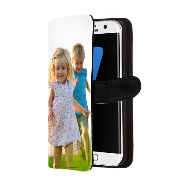 Galaxy S7 Edge portemonnee hoesje met foto