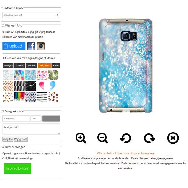 Samsung Galaxy S7 Hardcase hoesje maken