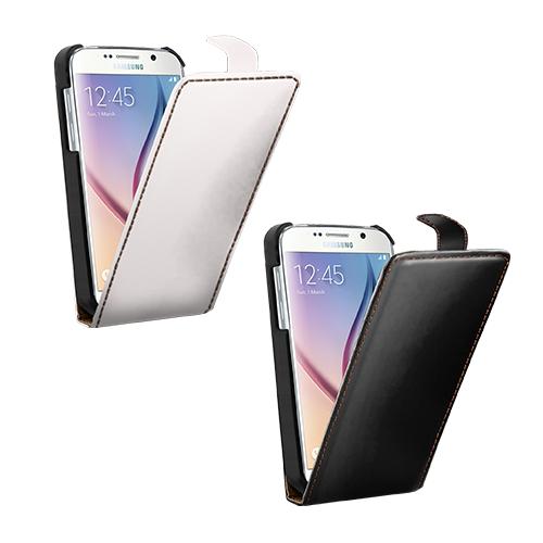 coque personnalisée Galaxy S6 à rabat Samsung avec photo et texte