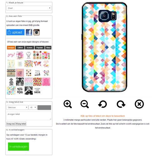 Galaxy S7 hoesje maken