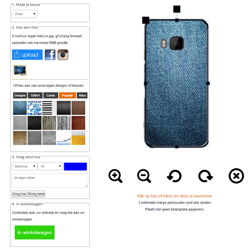 HTC One M9 coque personnalisée rigide