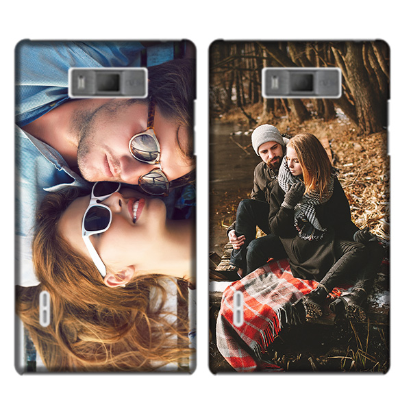LG Optimus L7 Hardcase hoesje met foto