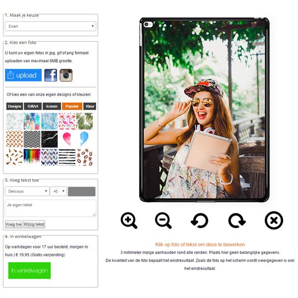 iPad Pro hardcase hoesje ontwerpen