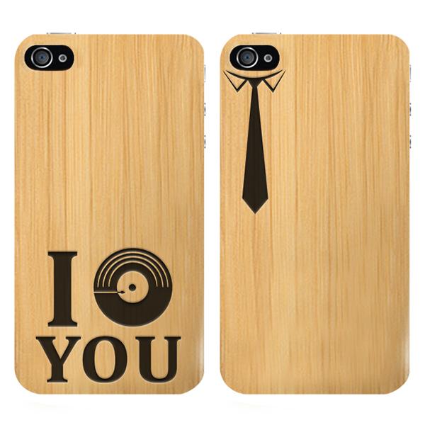 iPhone 4(S) bamboe hardcase maken met gegraveerd design