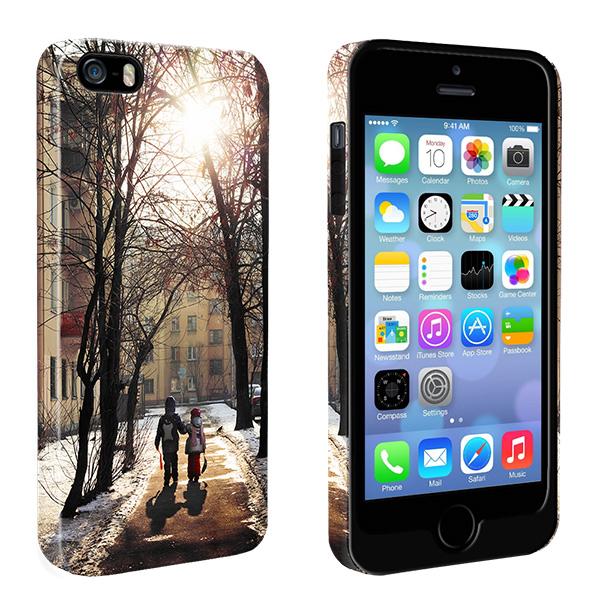 Coque personnalisée renforcée iPhone 5, 5S ou SE