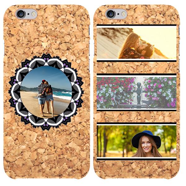 coque liège iPhone 6S avec photo