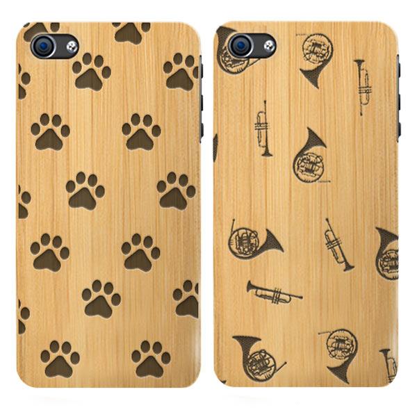 coque personnalisée iphone 6S, coque en bois gravée
