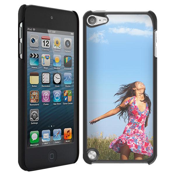 coque rigide personnalisée iPod touch 5 noire ou blanche