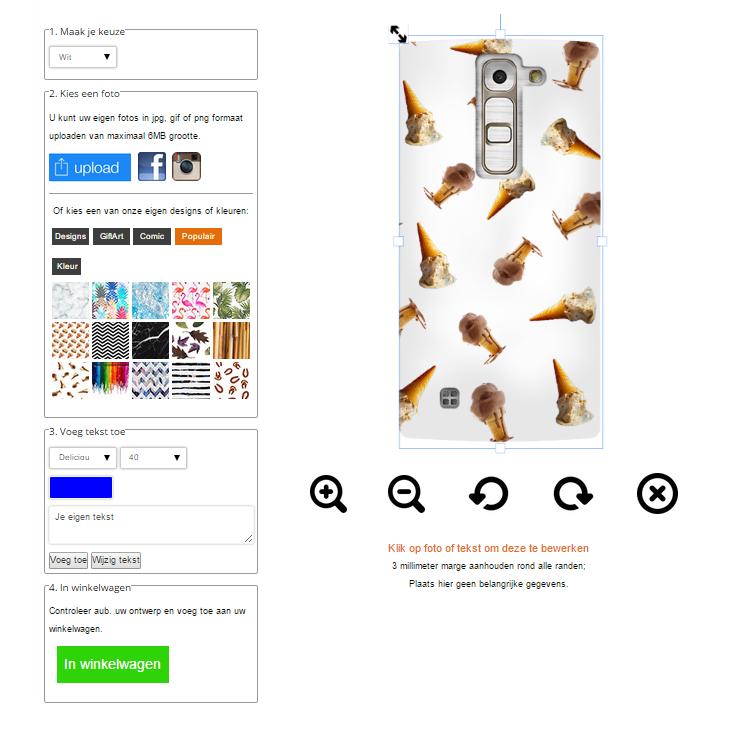 LG G4C hoesje met foto