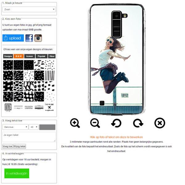 LG K10 hoesje met foto