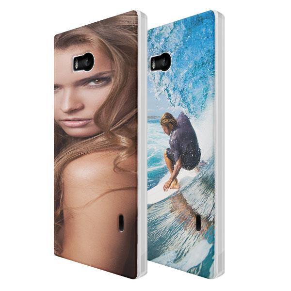 Coque rigide personnalisée Nokia Lumia 930 blanche