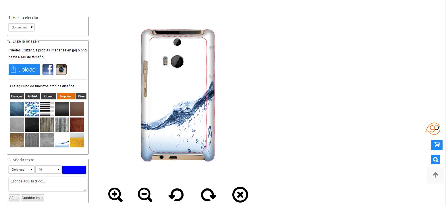 HTC One M8 coque personnalisée rigide