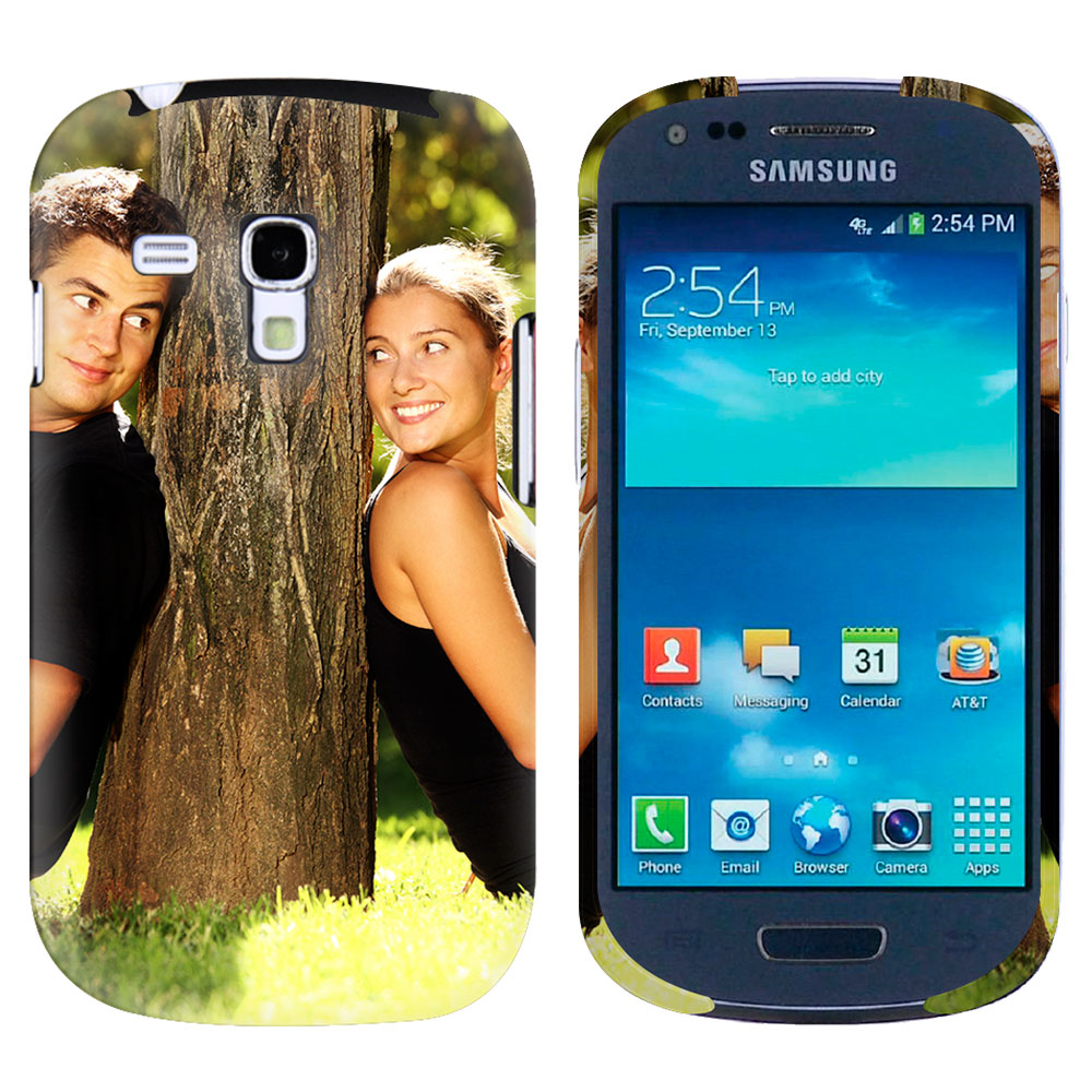 coque rigide personnalisée Samsung Galaxy S3 mini sublimation 3D