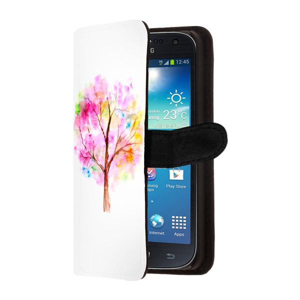 Samsung Galaxy S4 mini portefeuille case ontwerpen