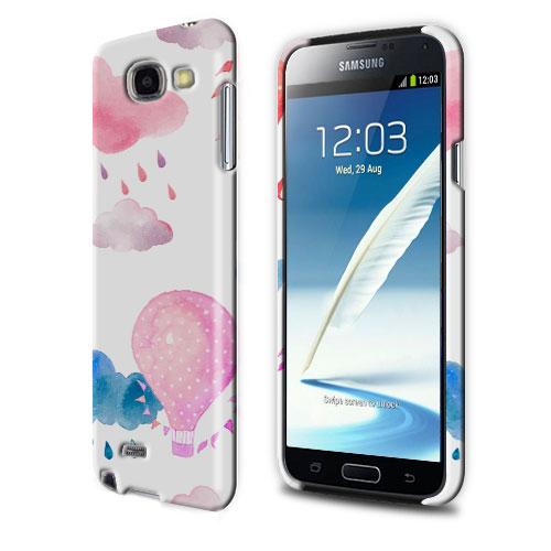 Coque personnalisée Samsung Galaxy note 2 impression sur la tranche