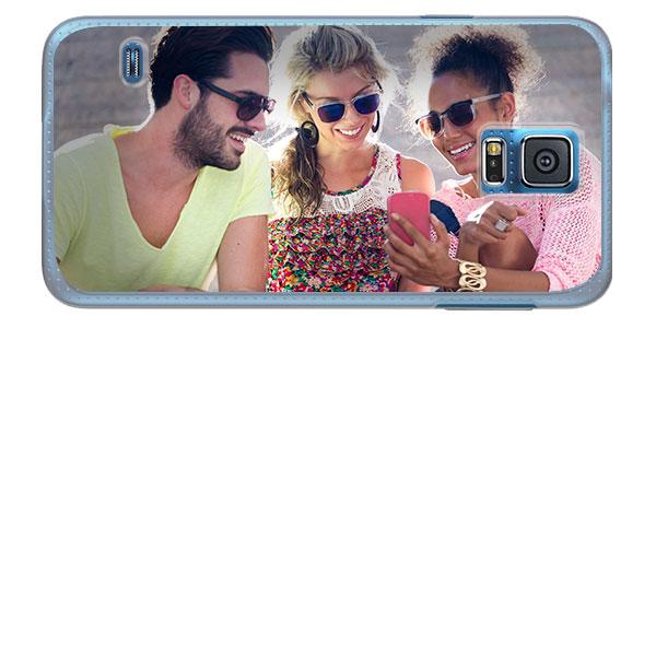 Coque personnalisée Samsung Galaxy S5 impression sur les contours