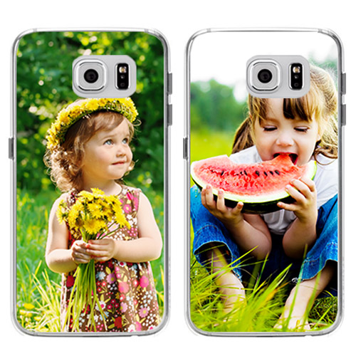 galaxy S6 Edge softcase met foto