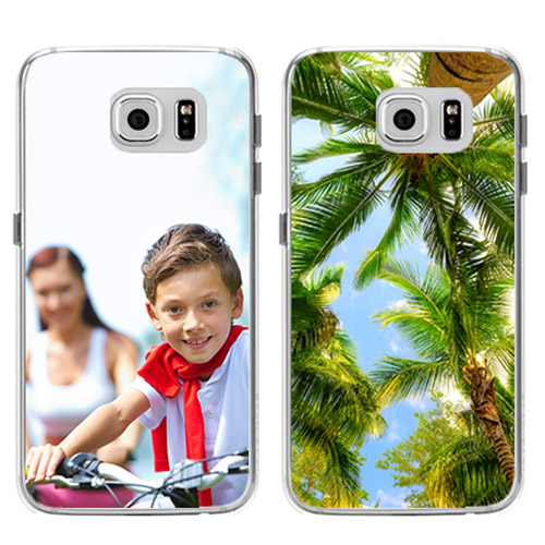 galaxy S6 softcase met foto