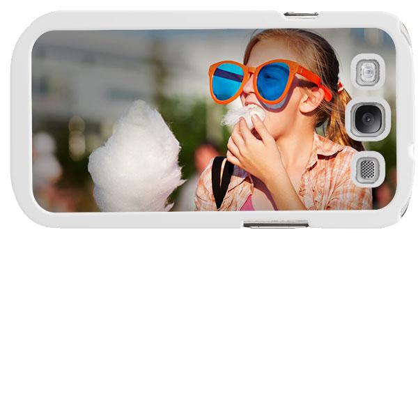 coque rigide personnalisée noire ou blanche Samsung Galaxy S3