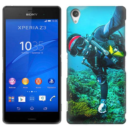 coque personnalisée Sony Xperia Z3 impression sur la tranche