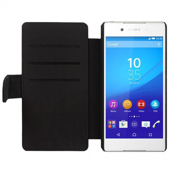 Sony Xperia Z3+ telefoonhoesje maken zwart